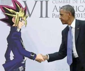 meme, obama, and anime meme image