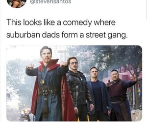 Avengers, doctor, and infinity image