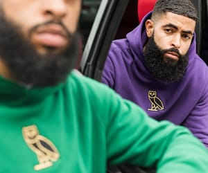 beard, Drake, and fashion image