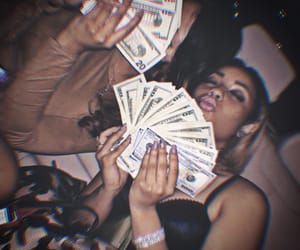 money, friends, and luxury image