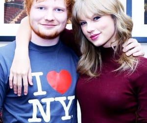 celebrities, Taylor Swift, and ed sheeran image
