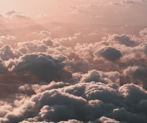 sky, clouds, and tumblr image