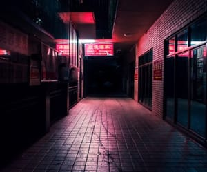 light, pink, and grunge image