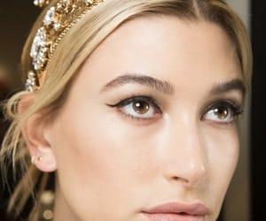 close up, crown, and hailey baldwin image
