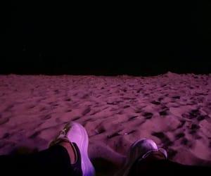 beach, bulgaria, and feet image