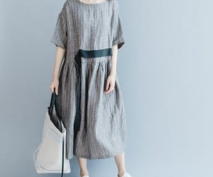 etsy, gray dress, and maxi dress image