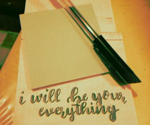 calligraphy, everything, and foryou image