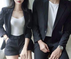 couple, kfashion, and fashion image