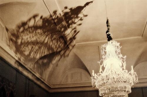 Image de inspiration, vintage, and chandelier