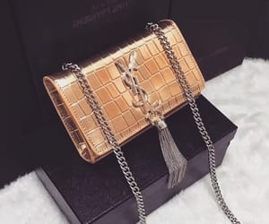 bag, purse, and YSL image