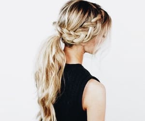 aesthetic, girl, and hairstyle image