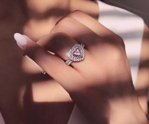 diamonds, jewelry, and ring image