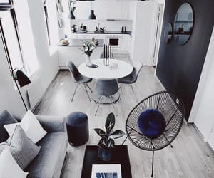 fashion, living room, and style image