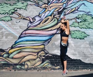colourful, dance, and fit image