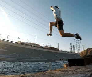 jump, roofculture, and parkour image