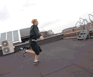 gif, roofculture, and parkour image