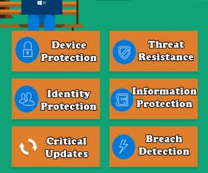 windows 10 and security features image
