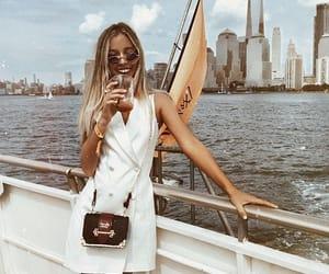 beauty, city, and fashion image