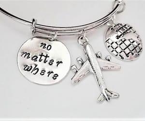 charm bracelet, no matter where, and expandable bracelet image