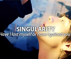gif, singularity, and taehyung image