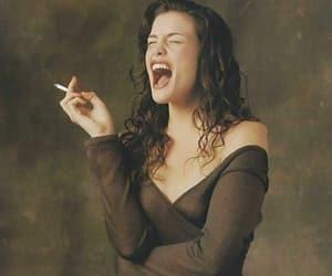 girl, liv tyler, and smoking image