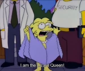 Queen, the simpsons, and lisa simpson image