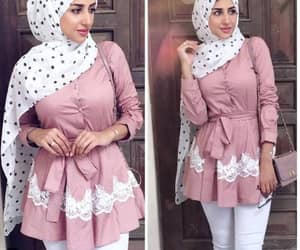 dress, skirt, and hijabi blogger image