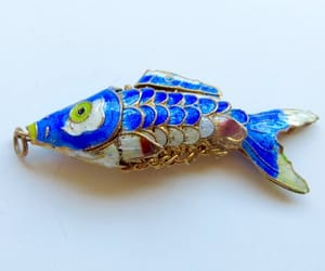 etsy, fish jewelry, and chinese export image
