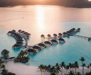 beach, send, and tropical image