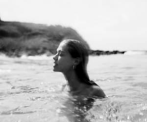 alternative, beach, and black and white image