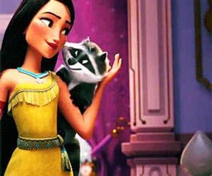 animal, animation, and disney princess image