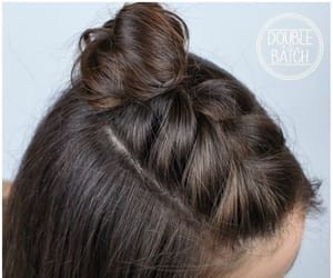 buns, coiffure, and court image