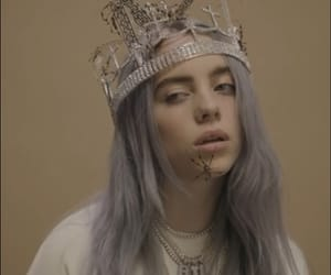 billie, billie eilish, and crown image