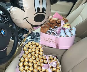 balloons, mickey mouse, and box image