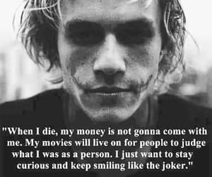 quotes, joker, and heath ledger image