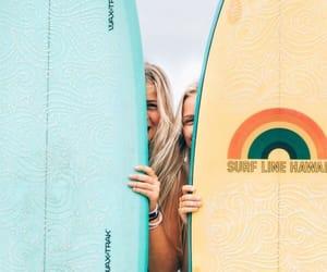 bffs, girls, and summer image