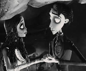 corpse bride, helena bonham carter, and Darkness image