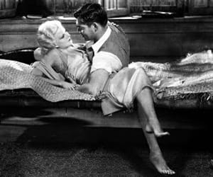 clark gable, jean harlow, and red dust image