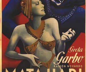 greta garbo and Mata Hari image