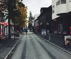 downtown, travel, and iceland image