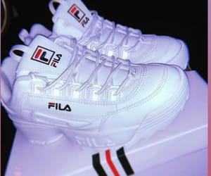 brand, fashion, and Fila image