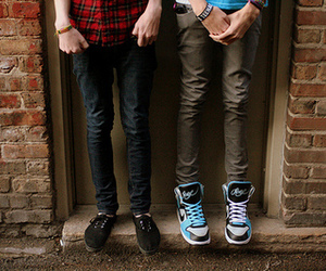boy, shoes, and legs image