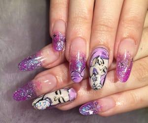 acrylic, aesthetic, and nails image