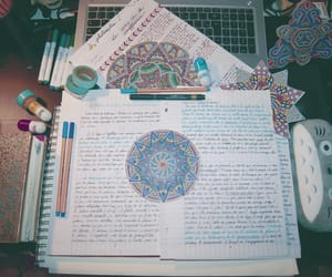 college, notes, and school image