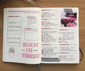 college, inspiration, and journaling image