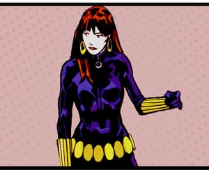 Marvel, natasha romanoff, and black widow image