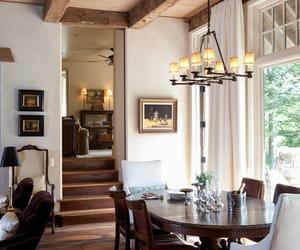 dining room, interior, and interior design image