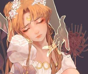 anime, sailor, and serena image