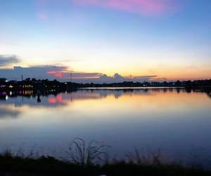 lake, night, and Vietnam image