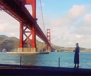 aesthetic, gif, and golden gate bridge image